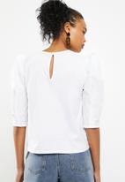 Superbalist - Structured blouse - white