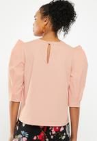 Superbalist - Structured blouse - pink