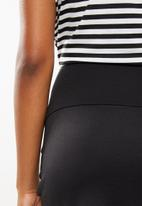 edit Maternity - Maternity knit pencil skirt - black