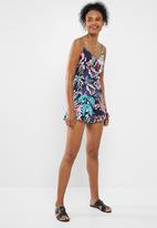 ONLY - Melbourne playsuit - navy