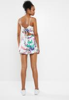 ONLY - Melbourne playsuit - white