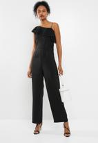 ONLY - Joelene lace jumpsuit - black
