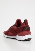 PUMA - Muse satin II sneakers - burgundy
