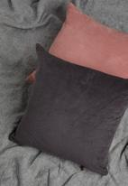 Sixth Floor - Cord cushion cover - charcoal