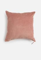 Sixth Floor - Cord cushion cover - pink