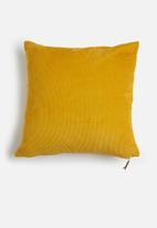 Sixth Floor - Cord cushion cover - mustard
