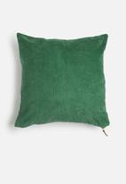 Sixth Floor - Cord cushion cover - teal