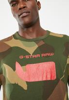 G-Star RAW - Graphic MBC regular tee - multi