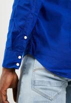 G-Star RAW - Landoh long sleeve shirt - blue