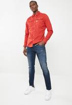 G-Star RAW - 3301 slim Joan stretch vintage - blue