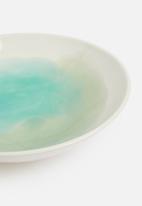 Urchin Art - Morandi serving bowl - washed blue