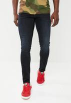 G-Star RAW - Revend skinny jeans - black