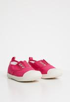 POP CANDY - canvas slip on - cerise pink