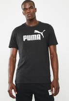 PUMA - Ess logo tee - black