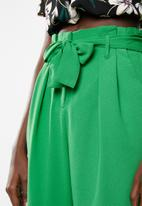 Superbalist - Wide leg pant - green