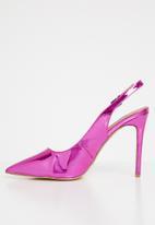 Madison® - Blair slingback heels - metallic pink