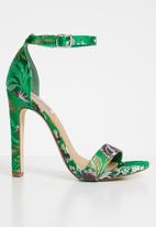 Madison® - Tiara printed heel - green