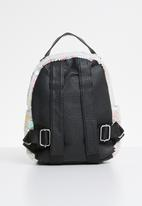 POP CANDY - Sequin backpack - white & pink
