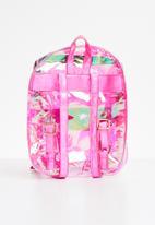 POP CANDY - Transparent backpack - pink