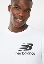 New Balance  - Essentials slack tee - white