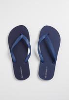 Superbalist - Mens flip flops - navy