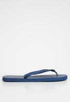Superbalist - Mens flip flops - navy