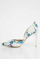 Madison® - Floral stilettos - white