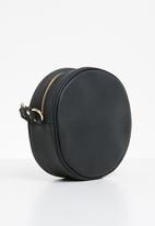 ONLY - Cross over round  bag - black