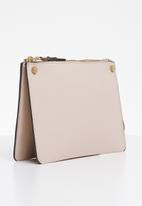 MANGO - Saffiano bag - beige