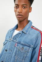 Levi's® - Sportswear trucker - blue & red