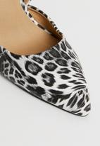 Madison® - Printed stiletto heels - black