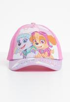 Character Fashion - Paw patrol peak cap - pink