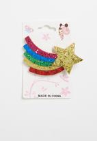 POP CANDY - Rainbow detail hair clip - multi