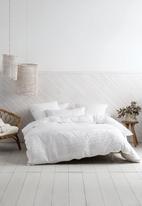 Linen House - Cameron duvet cover set - white