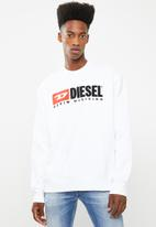 Diesel  - S-Division crew sweater - white