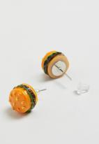 POP CANDY - Burger earrings - multi