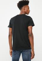 Diesel  - T- Diego crew short sleeve T-shirt - black