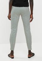 edit - Straight cut printed pants - multi