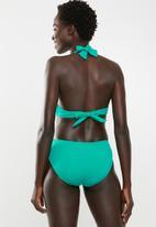 Jacqueline - Jade geo sash bikini bottoms - blue & green