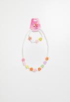 POP CANDY - Necklace and bracelet set 1 - multi
