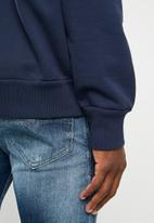 Diesel  - S-Samy printed sweater - navy
