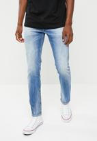 Diesel  - Thommer jeans acid wash - blue