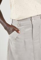 edit - Utility skirt - grey