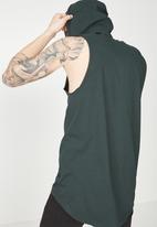 Cotton On - Hustle muscle tank - green