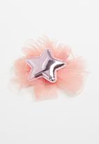 POP CANDY - Star detail hairclip - pink