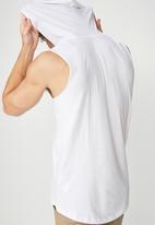 Cotton On - Hustle muscle tank - white