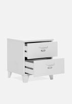 HMS Home - Factory bedside cabinet - white