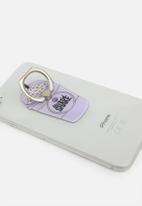 Typo - Mermaid shake phone rings - purple