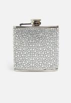 Typo - Novelty flask - metallic
