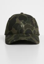 New Era - Camo 9forty - olive green